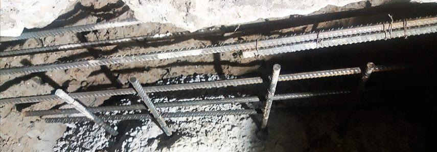Understøbning af fundament på etageejendom
