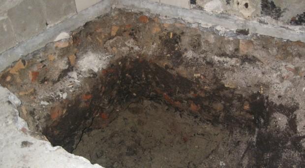 nedgravning af kælder, fundamenter, dræn