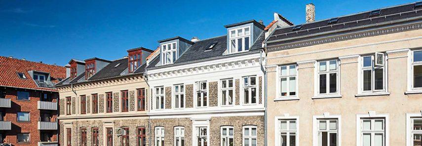 Vedligeholdelsesaftale og renovering af facade og vinduer